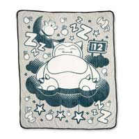 Image for Snoozing Snorlax Fleece Throw from Pokemon Center