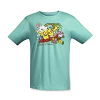Image for Alola Friends Relaxed Fit Adult Crewneck T-Shirt from Pokémon Center