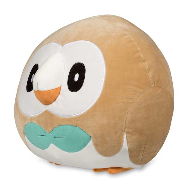 "Image for Rowlet Squishy Plush - 10"" from Pokemon Center"