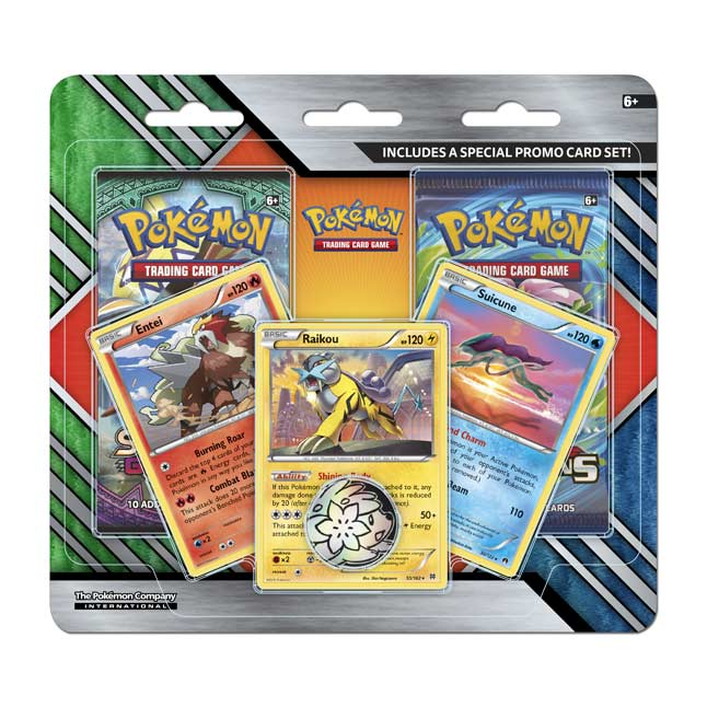 Image for Pokémon TCG: 2-Pack Booster with 3 Promo Cards and Coin from Pokemon Center