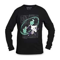 Image for Fire Spinner Alolan Marowak Long-Sleeve T-Shirt from Pokemon Center