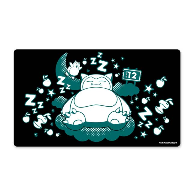 Image for Pokémon TCG: Snoozing Snorlax Playmat from Pokemon Center