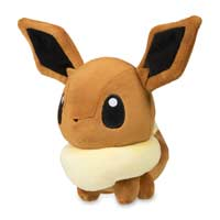 Eevee Pokémon Dolls Plush - 7 In.
