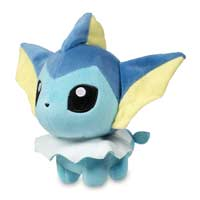 Vaporeon Pokémon Dolls Plush - 7 In.