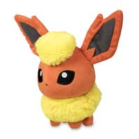 Flareon Pokémon Dolls Plush - 6 In.