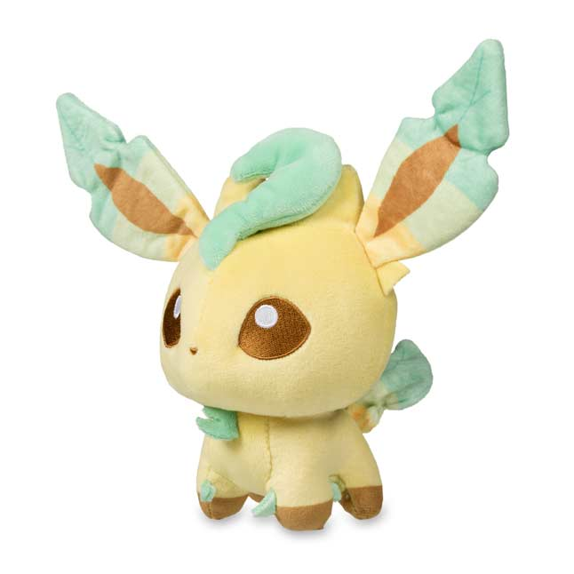 Image for Leafeon Pokémon Dolls Plush - 7 In. from Pokemon Center