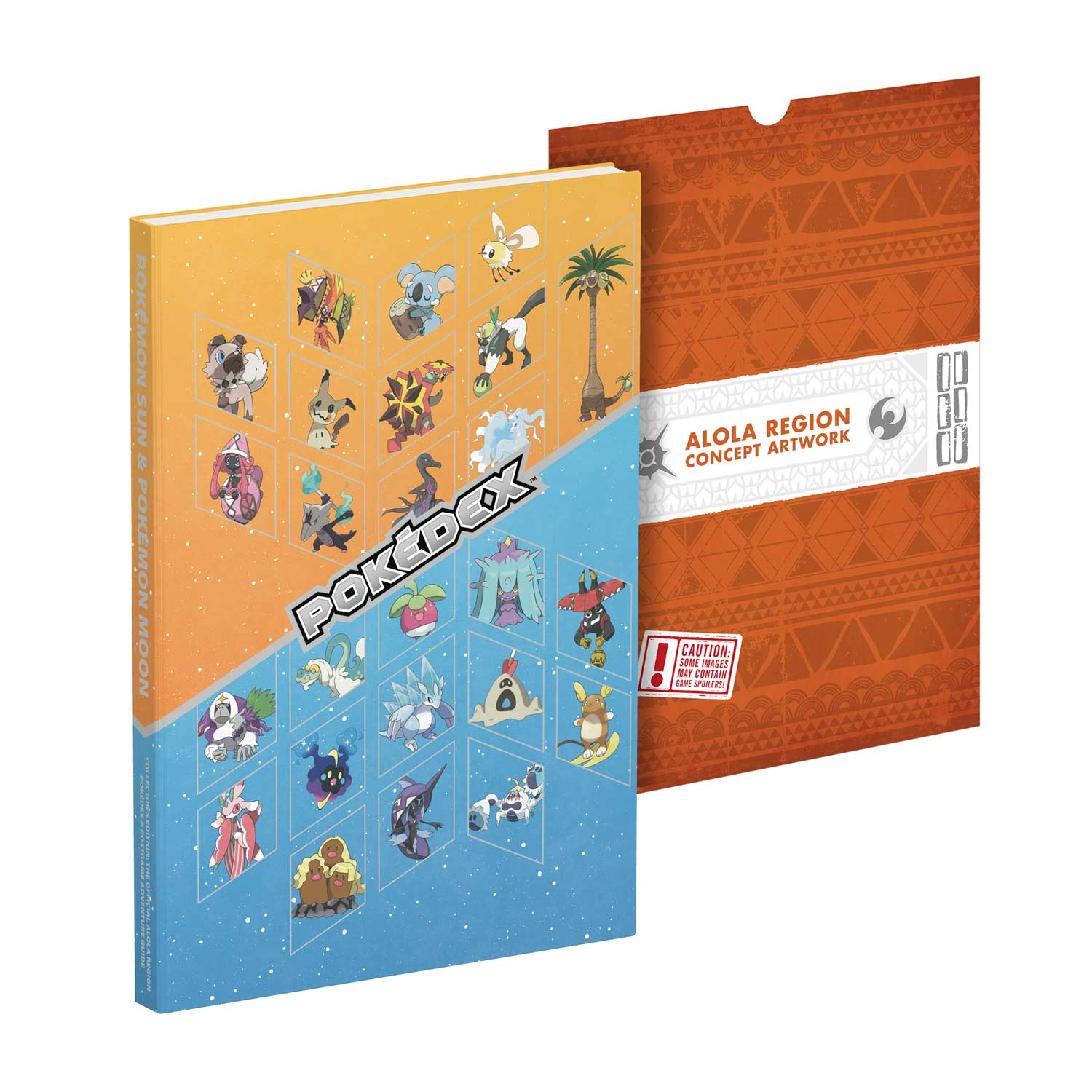Image for Pokémon Sun   Pokémon Moon  The Official Alola Region Collector s  Edition Pokédex   da81dc4546