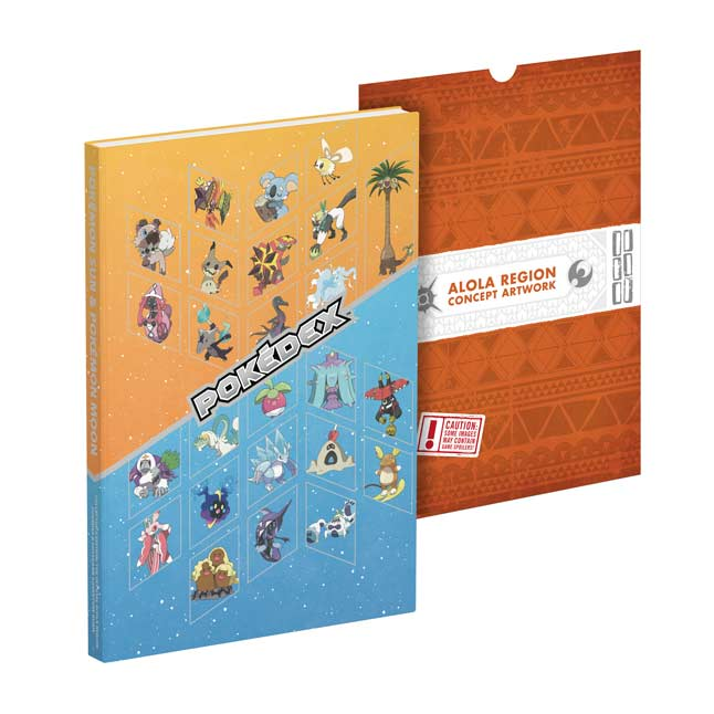 Image for Pokémon Sun & Pokémon Moon: The Official Alola Region Collector's Edition Pokédex & Postgame Adventure Guide from Pokemon Center