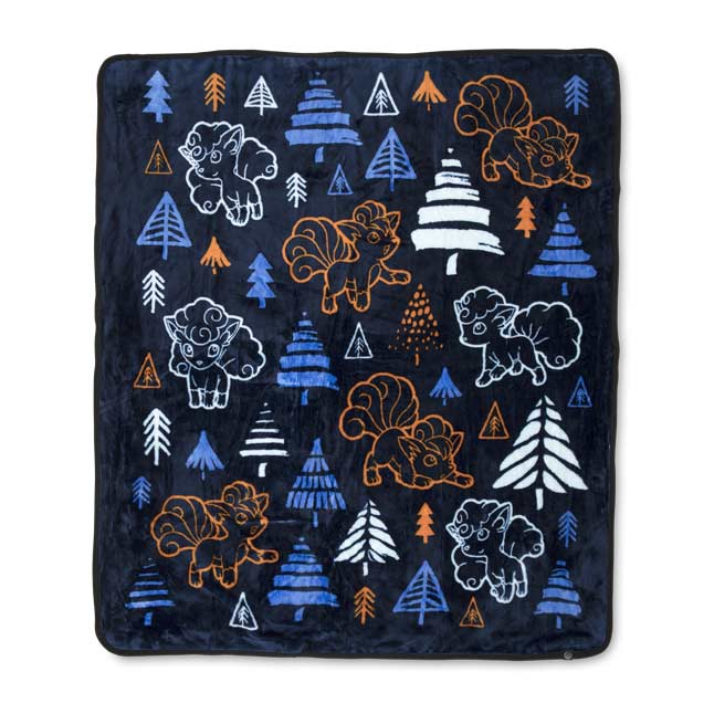 Image for Vulpix Frozen Forest Fleece Throw from Pokemon Center
