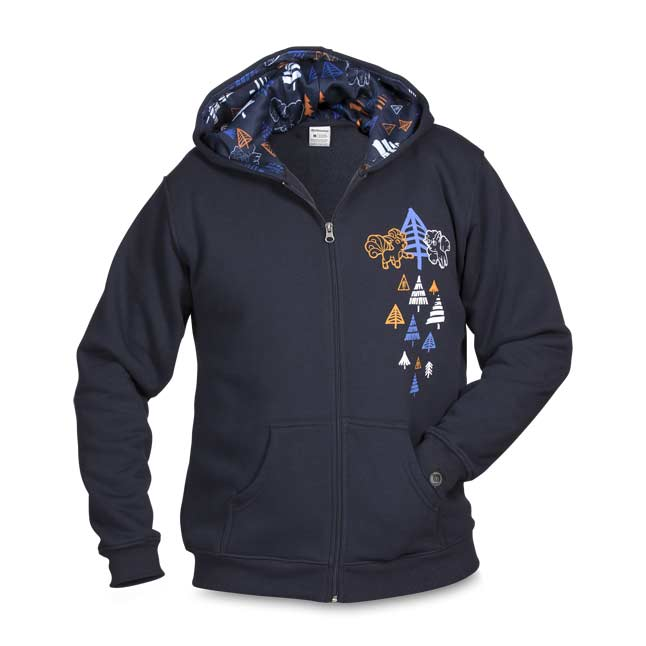 Image for Vulpix Frozen Forest Relaxed Fit Hoodie - Adult from Pokemon Center