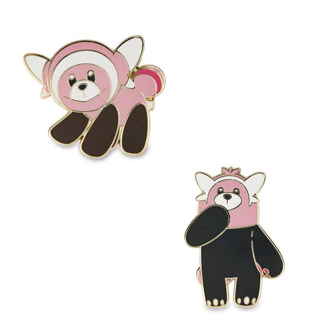 Image for Stufful & Bewear Pokémon Pins (2-Pack) from Pokemon Center