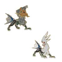 Type: Null & Silvally Pokémon Pins (2-Pack)