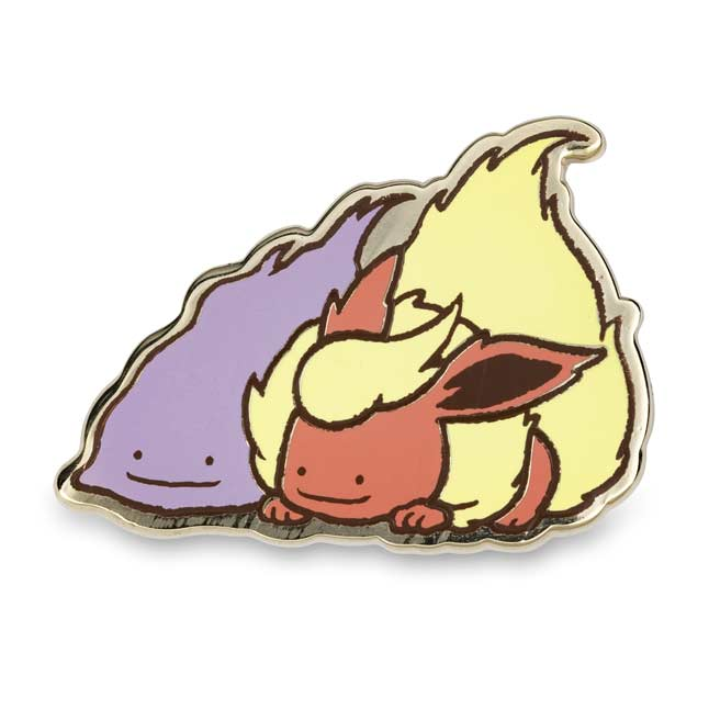 Image for Ditto As... Eevee Vaporeon Pikachu Jolteon Flareon Pokémon Pin (5-Pack) from Pokémon Center