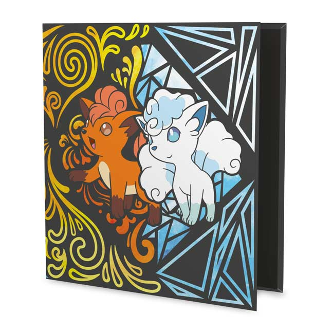 Image for Pokémon TCG: Vulpix & Alolan Vulpix D-Ring Binder - 1 In. from Pokemon Center