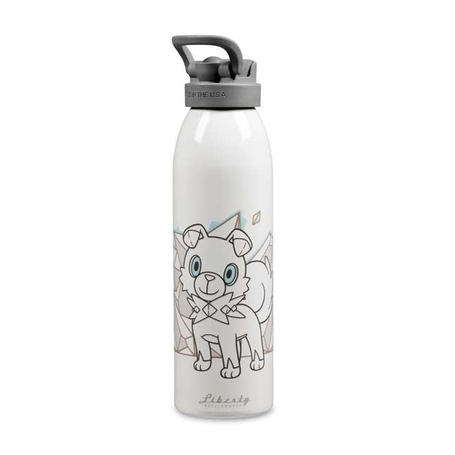 Image for Rockruff 24 Oz. Liberty Bottle from Pokemon Center