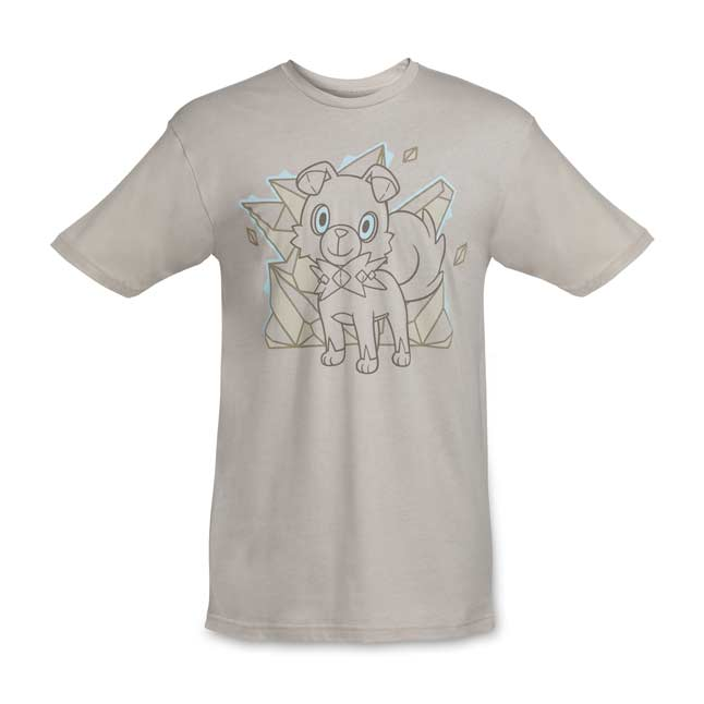 Image for Rockruff Relaxed Fit Crewneck T-Shirt - Adult from Pokemon Center