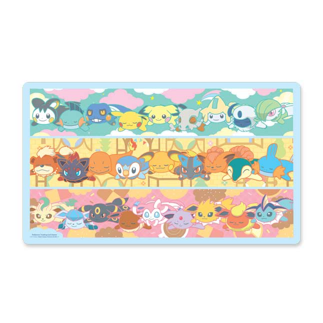 Image for Pokémon TCG: Kuttari Cuties Playmat from Pokemon Center