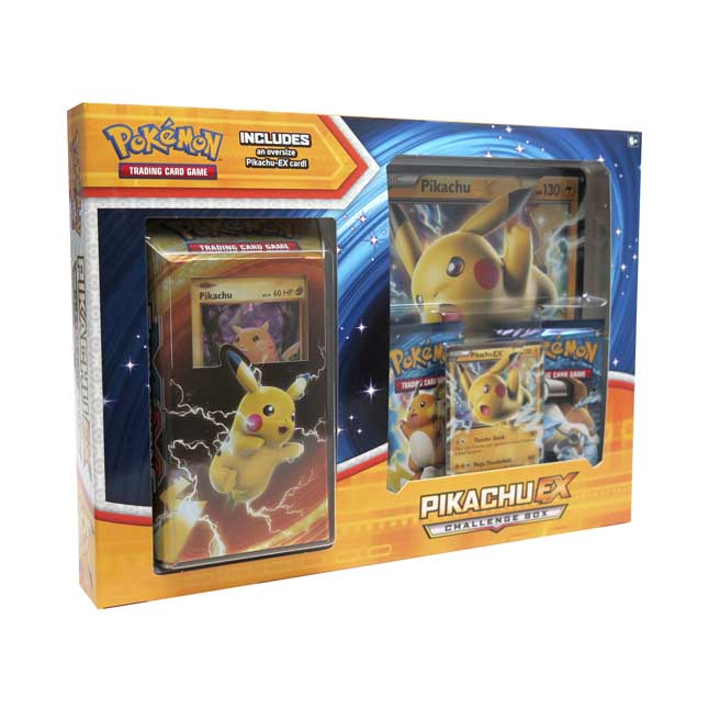 Image for Pokémon TCG: Pikachu-EX Challenge Box from Pokemon Center