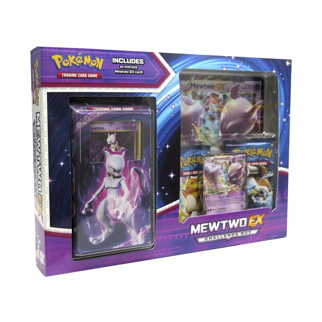 Image for Pokémon TCG: Mewtwo-EX Challenge Box from Pokemon Center