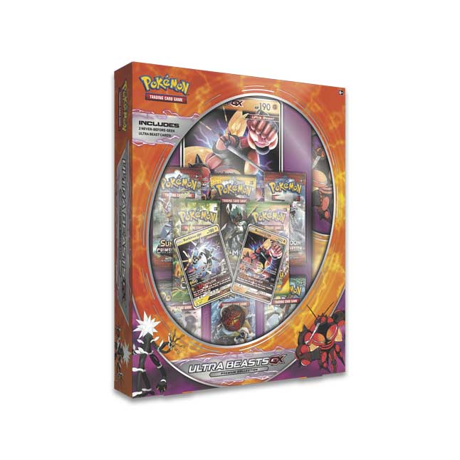 Image for Pokémon TCG: Ultra Beasts GX Premium Collection Featuring Buzzwole and Xurkitree from Pokemon Center