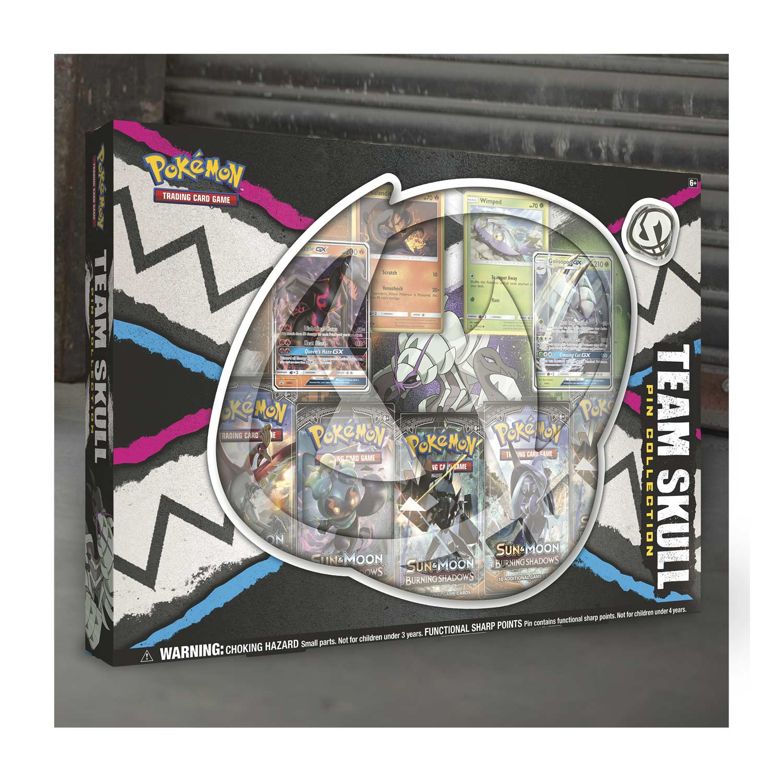 Pokemon Tcg Team Skull Pin Collection Golisopod Gx