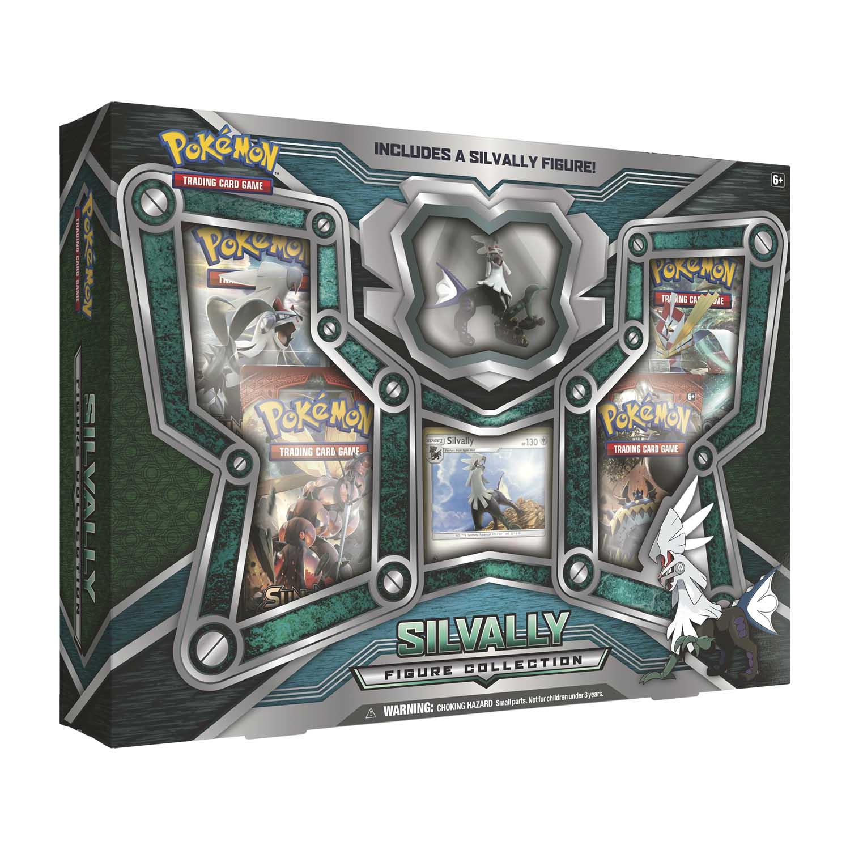 Pokemon Tcg Silvally Figure Collection