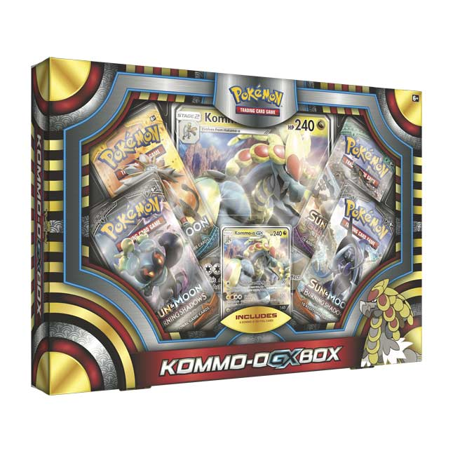 Image for Pokémon TCG: Kommo-o-GX Box from Pokemon Center