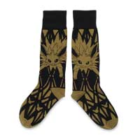 Image for Jolteon Triple Threat Midcalf Socks (One Size-Adult) from Pokemon Center