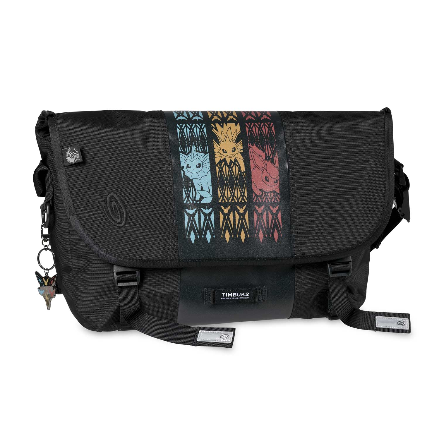 Image For Flareon Jolteon Vaporeon Triple Threat Timbuk2 Messenger Bag From Pokemon Center