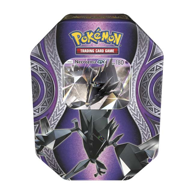 Image for Pokémon TCG: Mysterious Powers Tin with Necrozma-GX from Pokemon Center