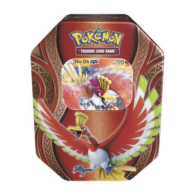 Image for Pokémon TCG: Mysterious Powers Tin with Ho-Oh-GX from Pokemon Center