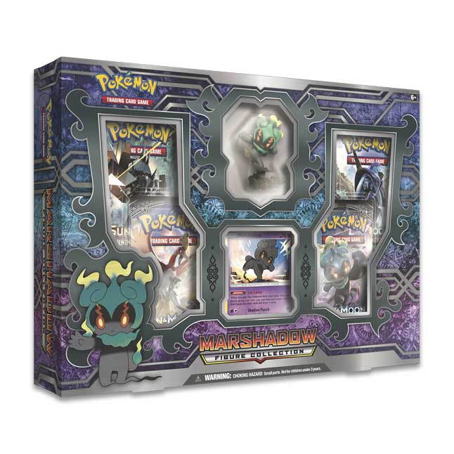 Image for Pokémon TCG: Marshadow Figure Collection from Pokemon Center