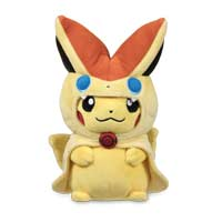 Victini Cape Pikachu Poké Plush - 8 1/2 In.
