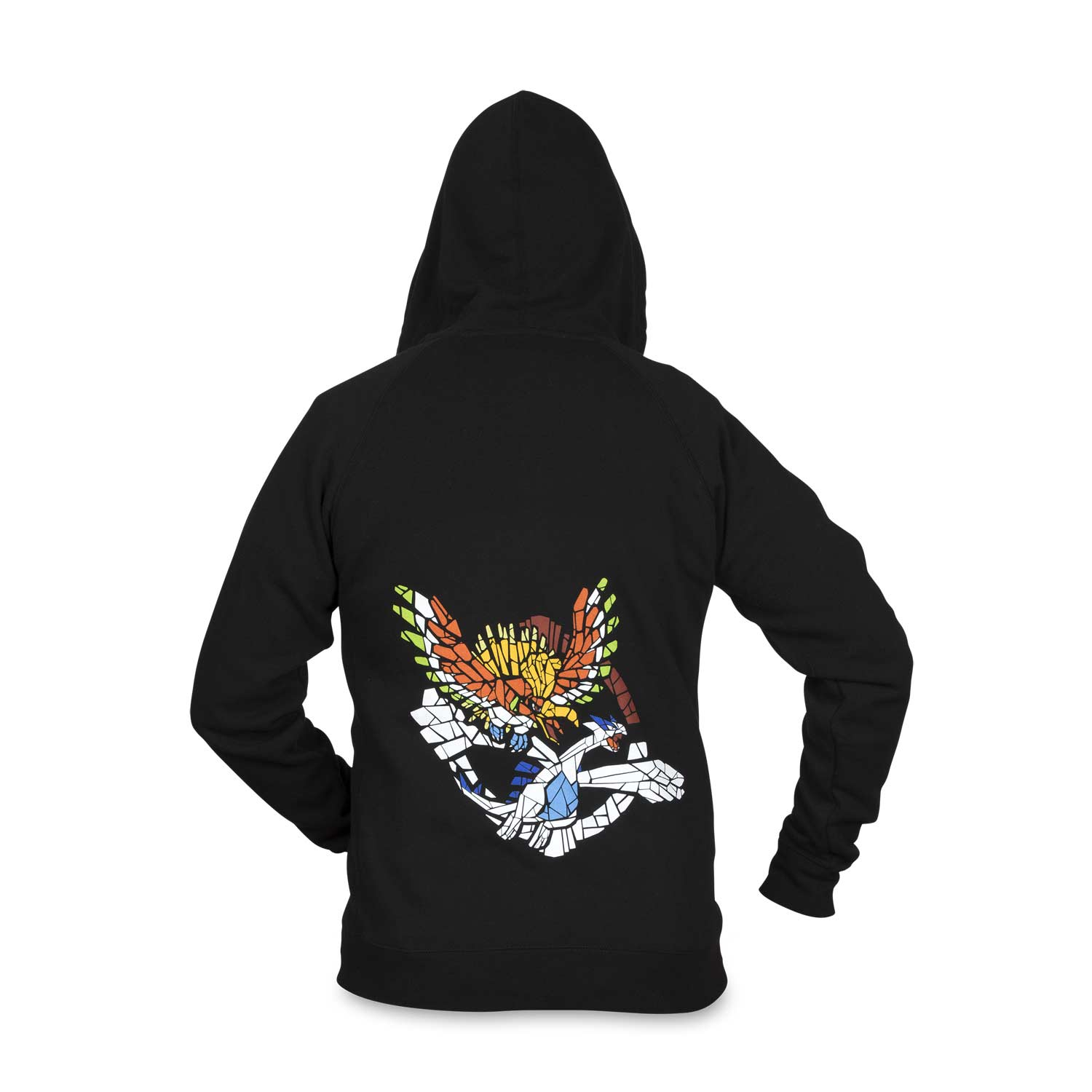 51564847 Ho-Oh & Lugia Mosaic Guardians Fitted Hoodie - Adult S