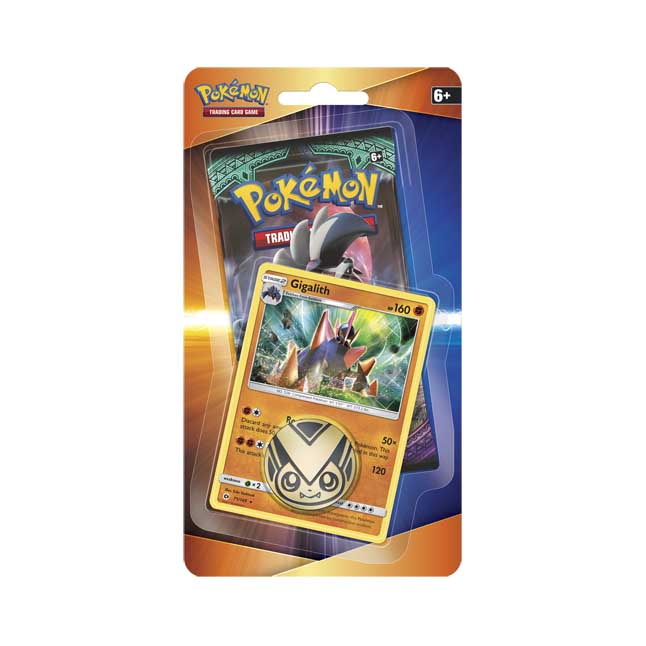 Image for Pokémon TCG: Booster, Coin, and Gigalith Promo Card from Pokemon Center