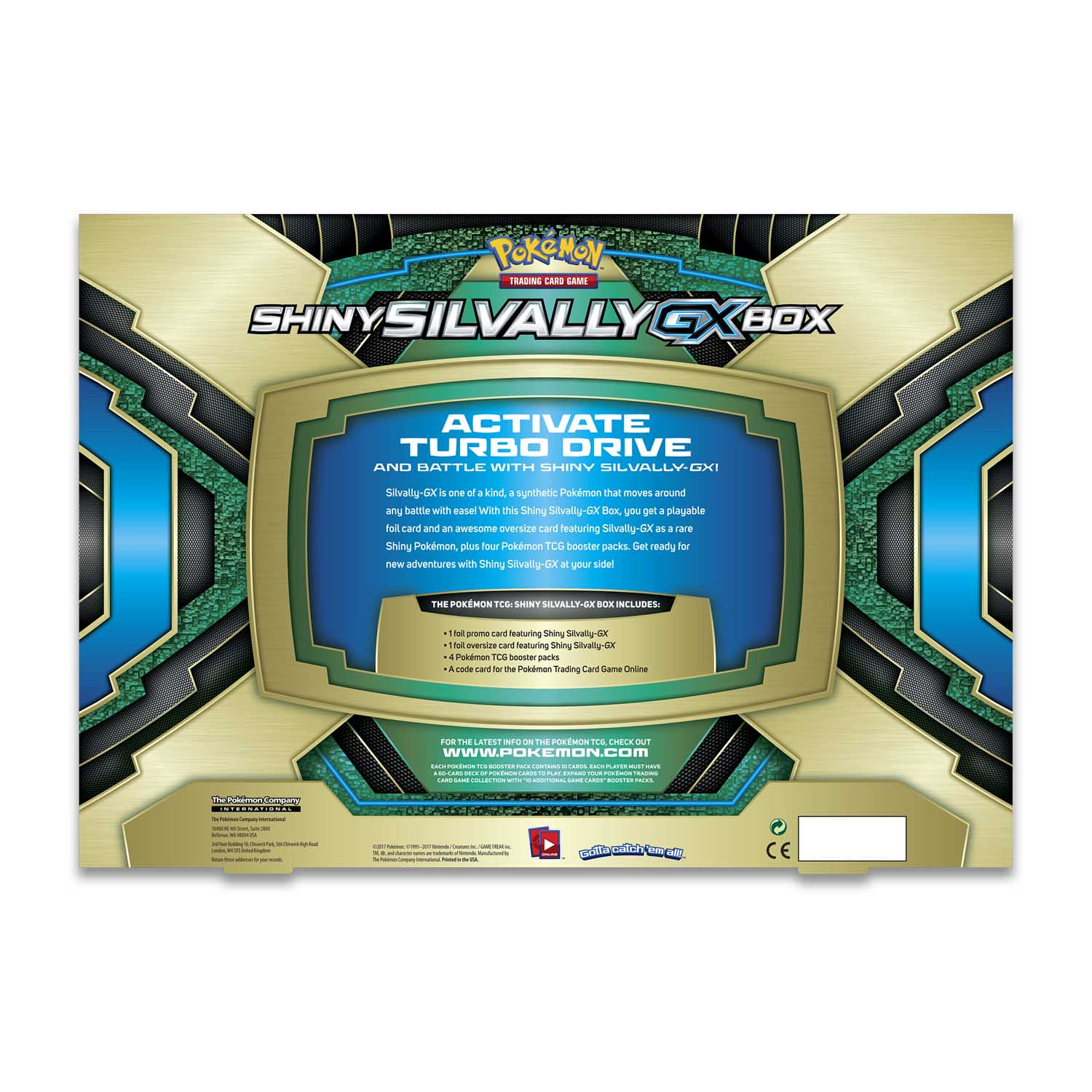 Pokmon Tcg Shiny Silvally Gx Box