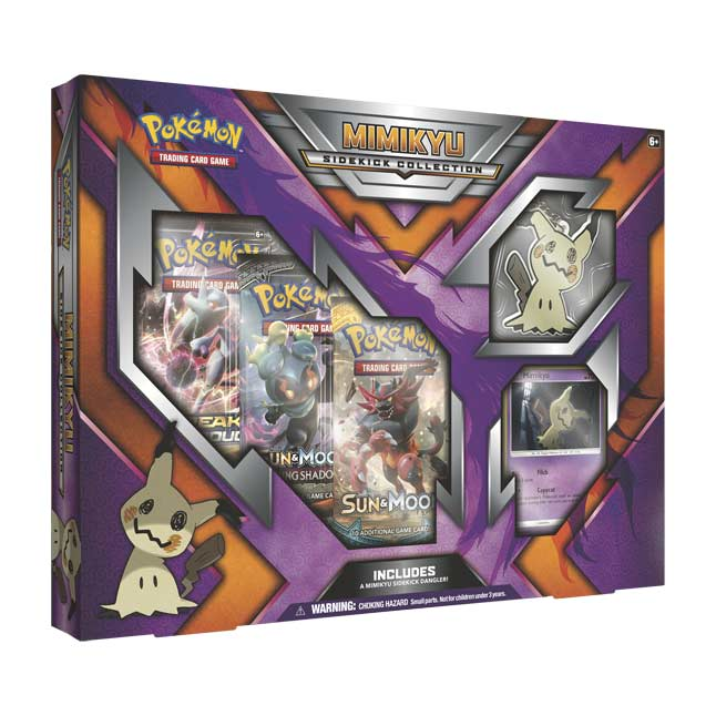 Image for Pokémon TCG: Mimikyu Sidekick Collection from Pokemon Center