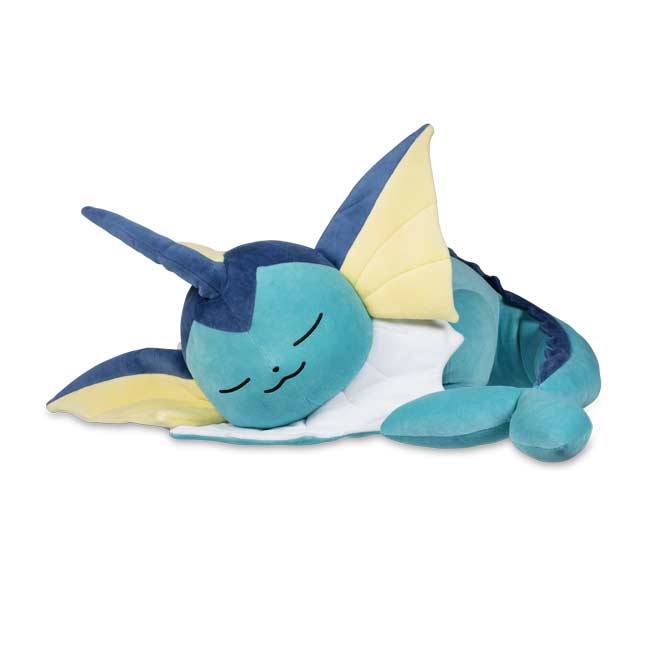 Image for Sleeping Vaporeon Poké Plush - 16 In. from Pokemon Center