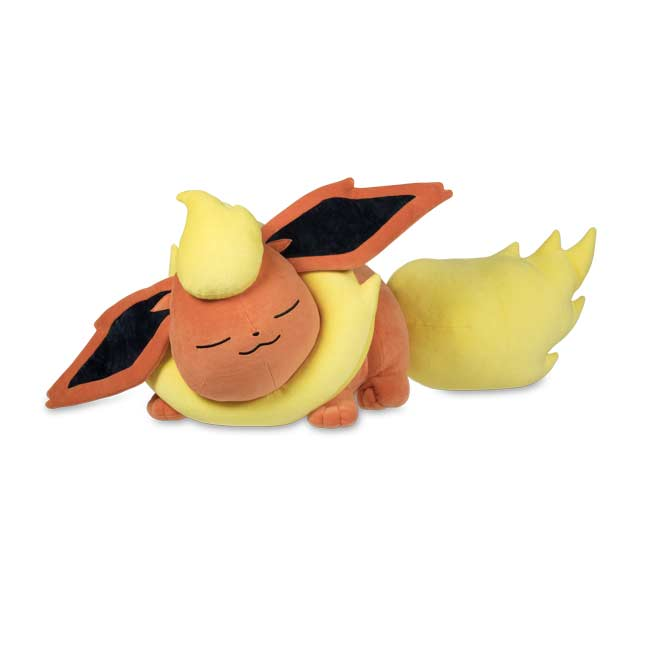 Image for Sleeping Flareon Poké Plush - 15 1/2 In. from Pokemon Center
