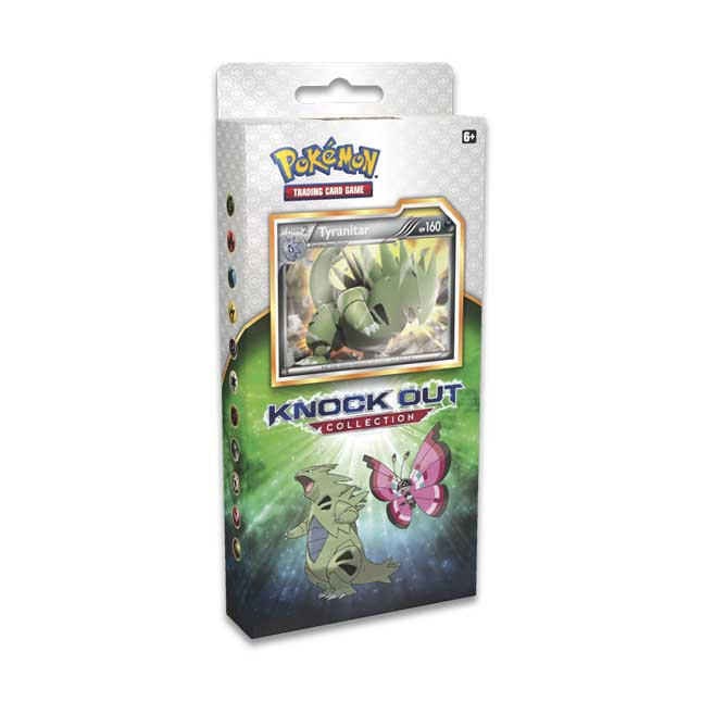Image for Pokémon TCG: Knock Out Collection with Tyranitar, Shiftry, and Vivillon from Pokemon Center