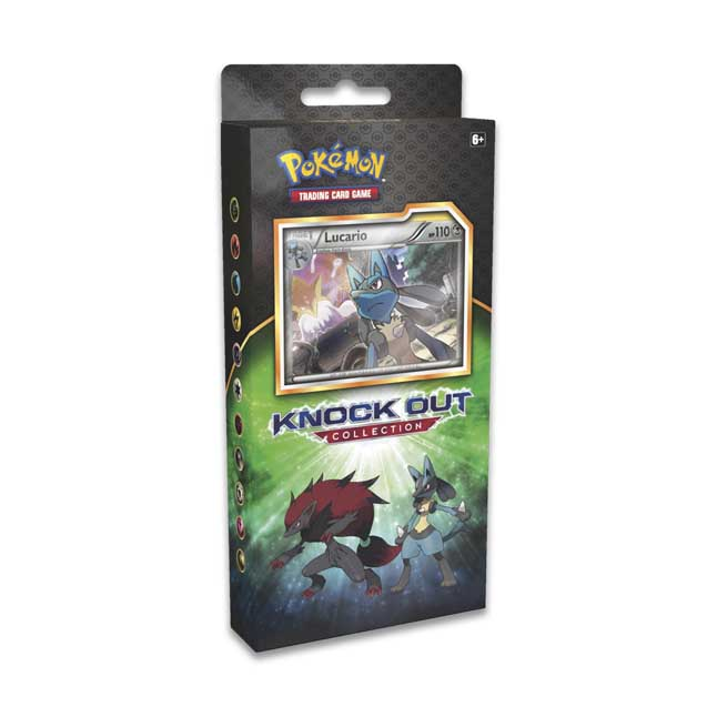 Image for Pokémon TCG: Knock Out Collection with Lucario, Bisharp, and Zoroark from Pokemon Center