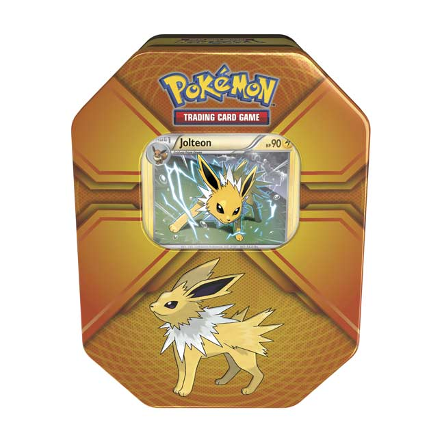 Image for Pokémon Trading Card Game: Triple Effect Tin with Jolteon from Pokemon Center