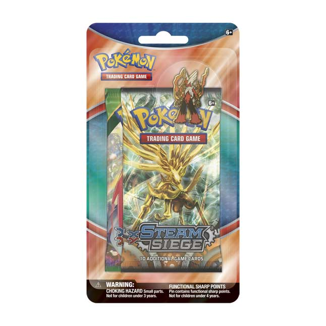 Image for Pokémon TCG: 2 Booster Packs with Mega Blaziken Collector's Pin from Pokemon Center