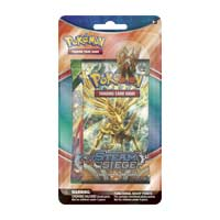 Pokémon TCG: 2 Booster Packs with Mega Blaziken Collector's Pin