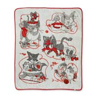 Image for Litten's Playhouse Fleece Throw - 50 In. by 60 In. from Pokemon Center