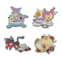 Litten's Playhouse Pokémon Pins (4-Pack)