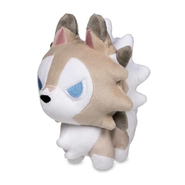 "10/"" Pokemon Center Lycanroc Midnight Form Poke Plush Standard"