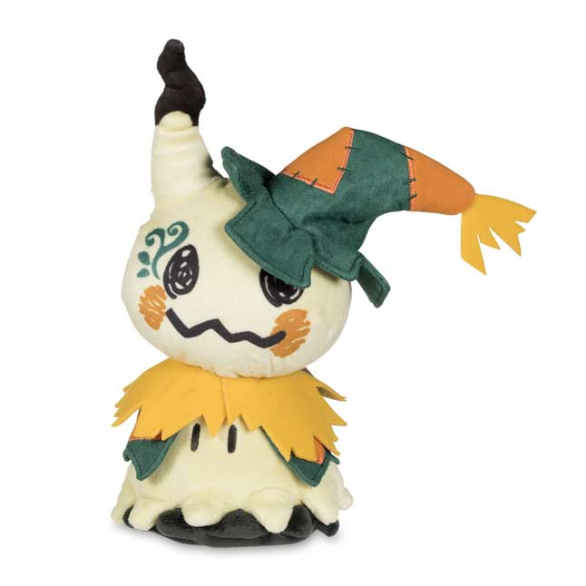 Image for Mimikyu Scarecrow Costume Poké Plush (Standard) - 9 1/4 In. from Pokemon Center