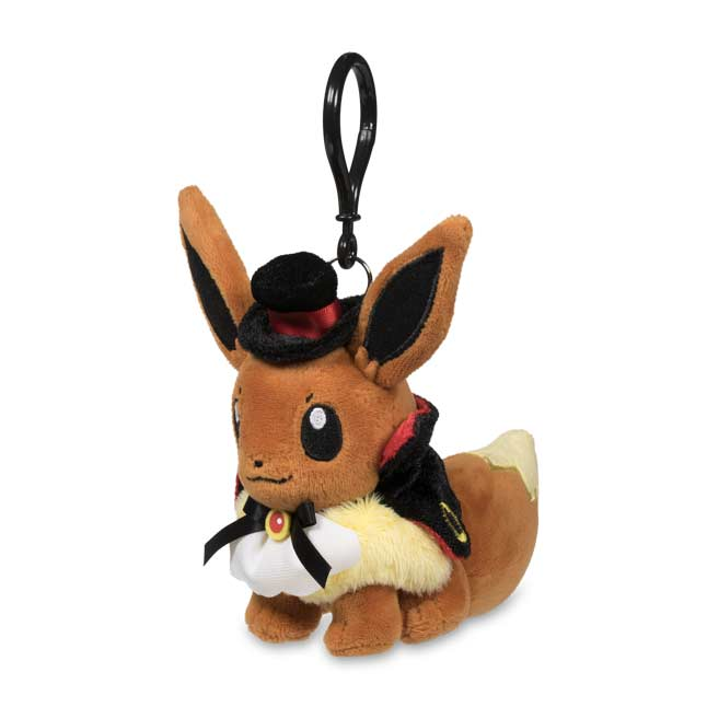 Image for Eevee Halloween Plush Costume Keychain from Pokemon Center