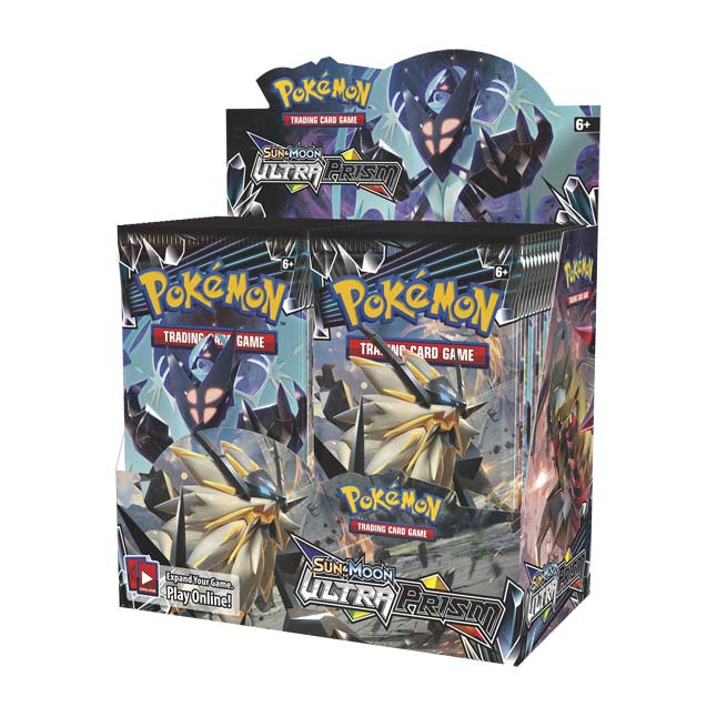 Image for Pokémon TCG: Sun & Moon-Ultra Prism Booster Display Box (36 Packs) from Pokemon Center